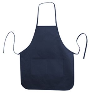 Heather NL2R Long Round Bottom Cotton Twill Apron Thumbnail